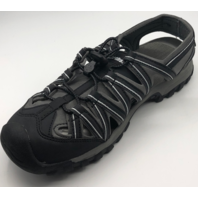 NORTHSIDE SANTA CRUZ  WOMENS SIZE 10 BLACK ACTIVE/HIKING SANDALS
