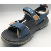 NORTHSIDE ADVENTURE FOOTWEAR MENS SIZE 9 BLUE-GRAY ACTIVE SANDALS
