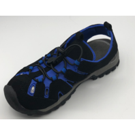 NORTHSIDE BURKE II KIDS SIZE 2 BLACK/ROYAL ACTIVE SANDALS