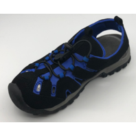 NORTHSIDE BURKE II KIDS SIZE 1 BLACK/ROYAL ACTIVE SANDALS