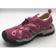 NORTHSIDE BURKE II KIDS SIZE 4 FUCHSIA/YELLOW ACTIVE SANDALS