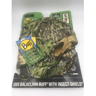 BUFF MO OBSESSION UVX BACLAVA INSECT SHIELD  HEADWEAR MASK SCARF