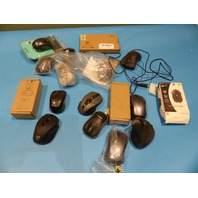 LOT OF ASSORTED WIRELESS AND WIRED MICE