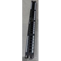 PANDUIT CABLEMATTERS 24 PORT PATCH PANEL DP5E