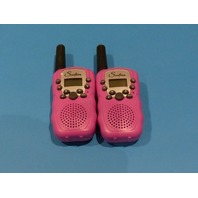 SWIFTION T-388 PINK WALKIE TALKIE W/OUT BATTERY PAIR