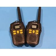OLYMPIA KEM-P34903 RUGGED 2-WAY RADIO WALKIE TALKIE PAIR