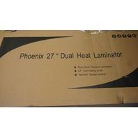 "PHEONIX 2700-HD 27"" DUAL HEAT LAMINATOR"