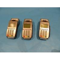 3* VERIFONE VX520 CREDIT CARD POS TERMINALS W/ RECEIPT PRINTERS