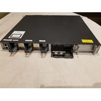 CISCO 48 PORT NETWORKING SWITCH 1PSU WS-C3650-48TD-L