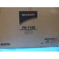 SHARP PN-Y496 49 IN.LED 1080P LCD DISPLAY