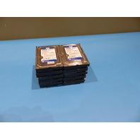 LOT OF 10 WESTERN DIGITAL WD5000AAKS-60WWPA0 500GB SATA 3.5 FT.HARD DRIVES