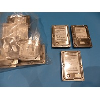 LOT OF 9 HDD 6* HITACHI DESKSTAR  3* SAMSUNG SPINPOINT