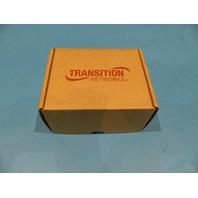 TRANSITION NETWORKS M/GE-PSW-SX-01 MEDIA 10/100/1000BASE BRIDGING CONVERTER