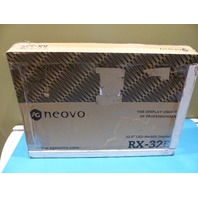 AG NEOVO RX-32 32IN SEMI RUGGED LCD DISPLAY/ VGA/DVI/HDMI/BNC LOOP THROUGH
