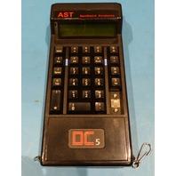AST DC5 INVENTORY CALCULATOR 27 KEY NO ENTER KEY COVER