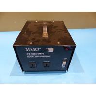 MSKJ ST-5000VA STEP UP & DOWN TRANSFORMER