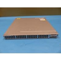 CISCO WS-C3850-48P-S V06 48-PORT POE SWITCH