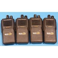 4* BEARCOM BD250D PORTABLE 2-WAY RADIO