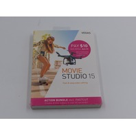 VEGAS MOVIE STUDIO 15 FAST AND EASY VIDEO EDITING UPC 639191920752