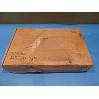 CISCO MERAKI MS120-24P-HW 24-PORT POE GIGABIT SWITCH UNCLAIMED