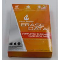 TECH EMBER ERASE DATA COMPLETELY ELIMINATE HARD DRIVE DATA UPC 861400000447
