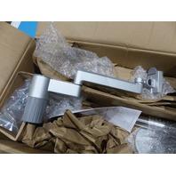 HUMANSCALE M/FLEX M2.1 MONITOR ARM DUAL ARM BRACKET TWO-PIECE CLAMP MOUNT