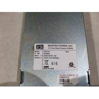 MARTEK DC3830LF PS2518-Y 50W DC POWER SUPPLY