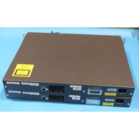 2* CISCO WS-C3560G-24PS-S 24-PORT ETHERNET SWITCH