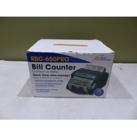 ROYAL SOVEREIGN RBC-650PRO PRO CURRENCY MONEY NOTE COUNTER W/ DIGITAL DISPLAY