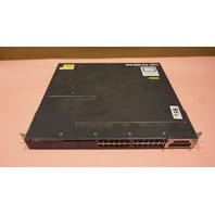 CISCO CATALYST 3560-X WS-C3560-X-24P-L V04 1* C3KX-NM-1G POE MANAGED SWITCH