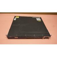 CISCO CATALYST 3560-X WS-C3560-X-24P-L-V05 1* C3KX-NM-1G POE MANAGED SWITCH