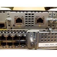 CISCO ISR ROUTER ISR4351 SM-X-ES3-24-P 2MFT-T1/E1 NIM-2FXS/4FXO NIM-4G-LTE-ST