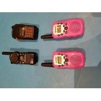 4* RETEVIS BAOFENG MOTOROLA XTRA TALK RADIOS T-388 UV-6R  CLS1410
