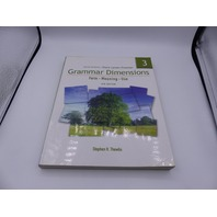 THOMSON GRAMMAR DIMMENSIONS 3: FORM, MEANING, USE FOURTH EDITION PAPERBACK