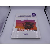 THOMSON GRAMMAR DIMENSIONS VOLUME 4: FORM, MEANING, USE FOURTH EDITION PAPERBACK
