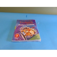 JOURNEYS: COMMON CORE READER'S NOTEBOOK CONSUMABLE COLLECTION GRADE 3 VOLUME 1&2