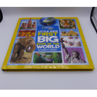 NATIONAL GEOGRAPHIC KID LITTLE KIDS FIRST BIG BOOK OF THE WORLD ELIZABETH CARNEY