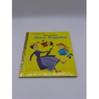 MARRY POPPINS A LITTLE GOLD BOOK 736434682