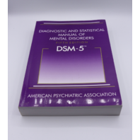 DIAGNOSTIC AND STATUSTICAL MANUAL OF MENTAL DISORDERS 5TH EDITON 890425558