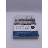 AMERICAN HORIZONS VOLUME I TO 1877 199389314