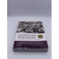 AMERICAN HORIZONS VOLUME II SINCE 1865 199389349