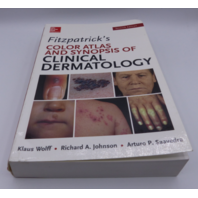 FITZPATRICKS COLOR ATLAS AND SYNOPSIS OF CLINICAL DERMATOLOGY KLAUS WOLFF 007179302X