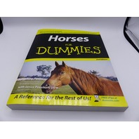 HORSES FOR DUMMIES 2ND EDITION AUDREY PAVIA 764597973