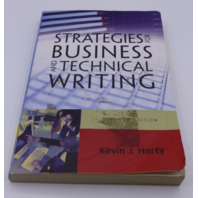 STRATEGIES FOR BUSINESS AND TECHNICAL WRITING KEVIN J HARTY 205741916