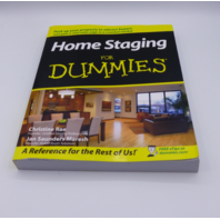 HOME STAGING FOR DUMMIES CHRISTINE RAE & JAN SAUNDERS MARESH PAPERBACK