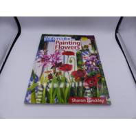 WATERCOLOR BASIC PAINTING FLOWERS SHARON HINCKLEY 891348948