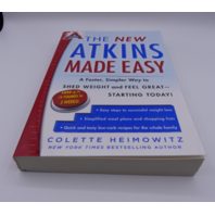 THE NEW ATKINS MADE EASY COLETTE HEIMOWITZ 1476729956