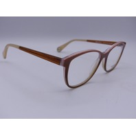 WOOW HURRY UP 1 EYEGLASSES FRAMES COL2906 BROWN BLUSH PINK ITALY 53-16-144