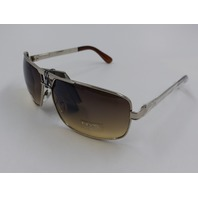 NYS COLLECTION BEDFORD SILVER UV 400 SUNGLASSES 6025