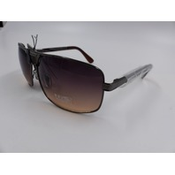 NYS COLLECTION BEDFORD GUNMETEL UV 400 SUNGLASSES 6025